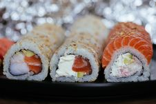 Free Close-up Photo Of Sushi Royalty Free Stock Image - 120361076