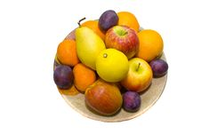 Free Fruits In A Dish Royalty Free Stock Images - 12042099