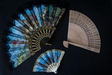 Free Decorative Fan, Hand Fan, Home Appliance Stock Photo - 120411900