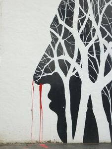 Free Art, Street Art, Tree, Modern Art Stock Photos - 120411973