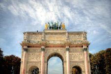 Free Photo Of The Arc De Triomphe Du Carrousel In Paris. Stock Photo - 120462540