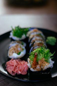 Free Sushi Dish Stock Image - 120462621