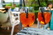 Free Drink, Cocktail, Alcoholic Beverage, Spritz Royalty Free Stock Image - 120482936