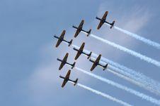Free Sky, Air Show, Aerobatics, Airplane Royalty Free Stock Photos - 120482958
