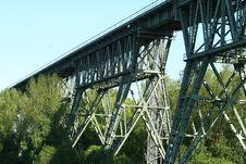 Free Bridge, Truss Bridge, Transport, Trestle Royalty Free Stock Photography - 120483027