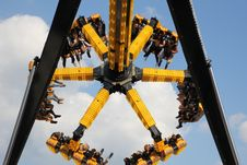 Free Amusement Park, Yellow, Amusement Ride, Tourist Attraction Stock Image - 120483201