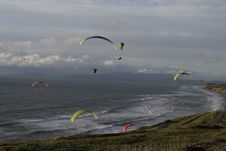 Free Paragliding, Air Sports, Sky, Parachuting Royalty Free Stock Images - 120483499