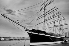 Free Sailing Ship, Tall Ship, Ship, Black And White Royalty Free Stock Photos - 120483568