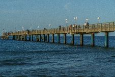 Free Sea, Pier, Ocean, Horizon Royalty Free Stock Photography - 120483587
