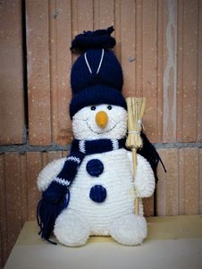Free Snowman, Stuffed Toy, Plush Stock Photography - 120483682