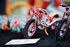 Free Tilt Shift Photography Of Motorcycle Toy Royalty Free Stock Images - 120524189