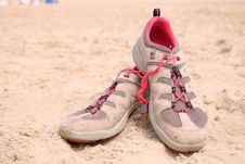 Free Footwear, Shoe, Pink, Sneakers Stock Image - 120554151