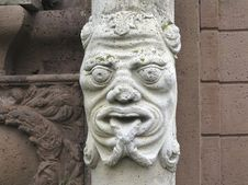 Free Stone Carving, Sculpture, Carving, Head Stock Photo - 120554240