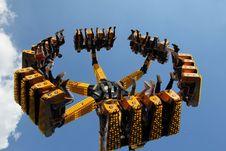 Free Amusement Park, Amusement Ride, Sky, Metal Royalty Free Stock Photo - 120554295