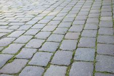 Free Cobblestone, Grass, Road Surface, Walkway Royalty Free Stock Image - 120554626