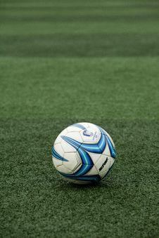 Free Football, Player, Grass, Ball Stock Photos - 120653383