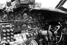 Free Motor Vehicle, Cockpit, Black And White, Engine Royalty Free Stock Image - 120653436