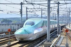 Free High Speed Rail, Transport, Train, Bullet Train Royalty Free Stock Photography - 120653977