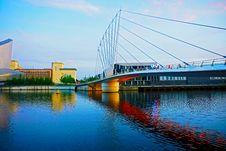 Free Bridge, Reflection, Waterway, Landmark Stock Photography - 120653982