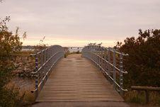 Free Sky, Walkway, Boardwalk, Morning Stock Images - 120654094