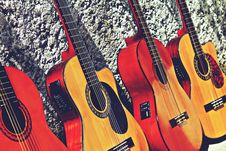 Free Guitar, Musical Instrument, Acoustic Guitar, Plucked String Instruments Stock Image - 120654911