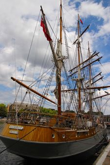 Free Sailing Ship, Tall Ship, Ship, East Indiaman Royalty Free Stock Image - 120655366