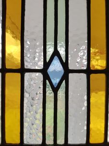 Free Yellow, Stained Glass, Glass, Window Royalty Free Stock Photography - 120655667