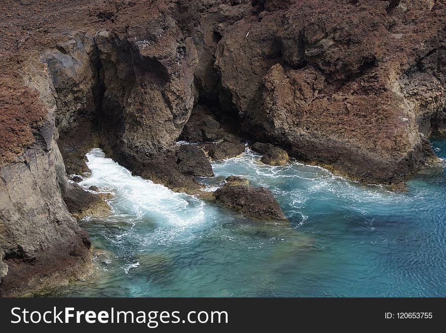 Water, Body Of Water, Rock, Sea