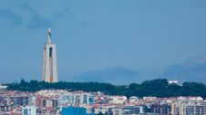 Free View Over Almada And Cristo Rei Stock Photography - 120746942