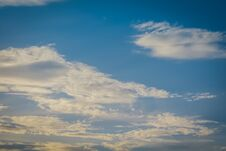 Free Blue Sky With Clouds Stock Images - 120756774