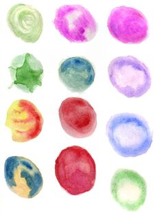 Free Watercolor Splotches Art Royalty Free Stock Images - 120761209