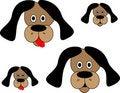 Free Dog Cartoon Icon Illustration Stock Image - 12094381