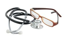 Free Stethoscope And Glasses Stock Images - 12091154