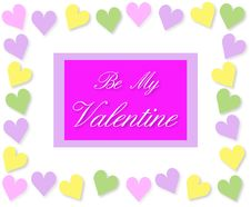 Free Valentine Card Stock Image - 12092211