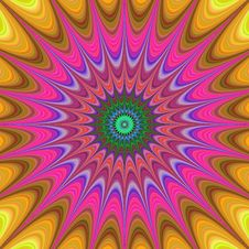 Free Psychedelic Art, Fractal Art, Pattern, Kaleidoscope Stock Images - 120958044
