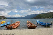 Free Sky, Water Transportation, Boat, Coastal And Oceanic Landforms Royalty Free Stock Photos - 120958428