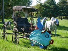 Free Carriage, Cart, Vehicle, Chariot Royalty Free Stock Image - 120958646