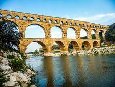 Free Aqueduct, Bridge, Arch Bridge, Historic Site Royalty Free Stock Photo - 120958775