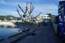 Free Transport, Water, Port, Fishing Vessel Royalty Free Stock Photos - 120958788