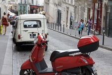 Free Scooter, Motor Vehicle, Street, Mode Of Transport Stock Images - 120959304