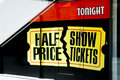 Free Half Price Show Tickets Royalty Free Stock Photos - 1219308