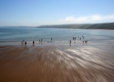 Free Beach Scene Stock Image - 1210061