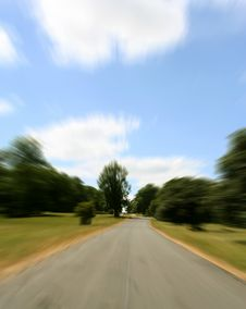 Free Country Lane Stock Photography - 1210082