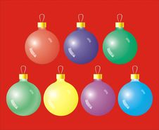 Free Christmas Balls Stock Photo - 1211370