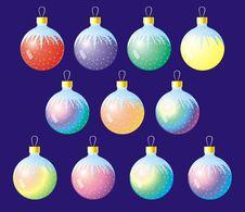 Free Christmas Balls Stock Photo - 1211440