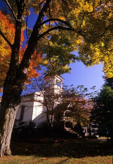 Free Methodist Church, Airmont, NY Royalty Free Stock Photo - 1211695