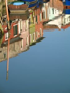 Free Venetian Reflection Royalty Free Stock Photo - 1211735