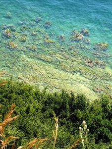 Free Blue Lake Stock Image - 1211801