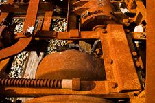 Rusted Machinery Royalty Free Stock Photos