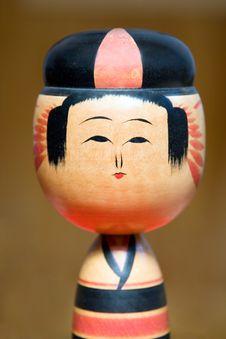 Free Kokeshi Royalty Free Stock Photo - 1213725